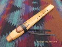Native American Indian double flute by dg Hatch